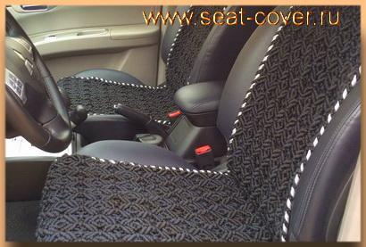 Накидки на сиденья Mitsubishi Pajero Sport